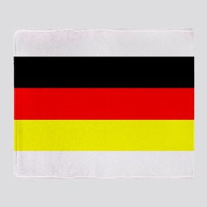 Flag Germany Throw Blanket